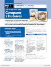 Juste un petit bout (4) / Comparer 2 histoires