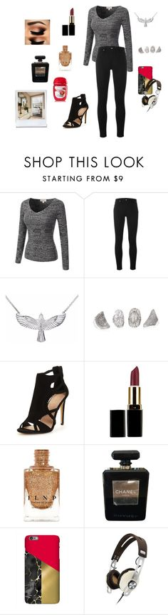 """Butler Until Midnight (Tomoki): This is Crazy..."" by gravityfallsgirl33 ❤ liked on Polyvore featuring Calvin Klein Jeans, Zoe & Morgan, Chanel and Sennheiser"
