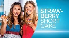Welcome back to the Quest Kitchen for Season Three of 'Cooking Clean with Quest!' WATCH host @blogilates  and special guest  ‪#‎BreeLovesBeauty‬ celebrate the Fourth of July by showing you how to make ‪#‎CheatClean‬ Strawberry Shortcakes that are perfect for your party dessert tray.