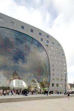 MVRDV completa la construcción del mercado techado más grande de Holanda