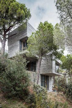 kubus fassade designer wohnhaus im mediterranen stil