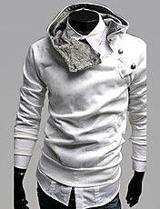 Herre Slim Design Hoodie