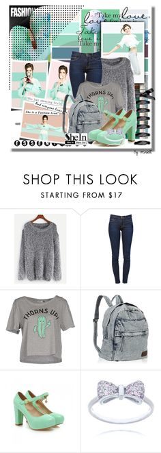 """Untitled #433"" by anonymousleaf ❤ liked on Polyvore featuring WithChic, Frame, ONLY and Charming Kicks"