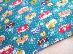 Japan Lecien camera fabric, isn't it perfect for making camera bags?