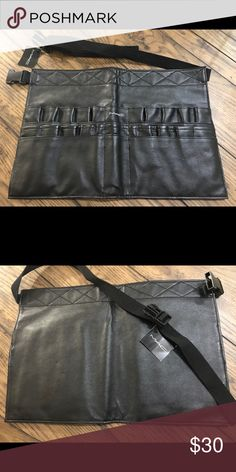 NWT MAC Cosmetics Makeup Toolbelt 100% Authentic. Easy-to-clean makeup toolbelt with adjustable waist strap. Pet free smoke free environment. MAC Cosmetics Makeup Brushes & Tools