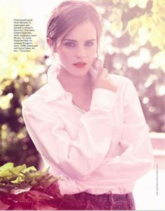 Emma Watson on March 2013 issue for Elle Magazine