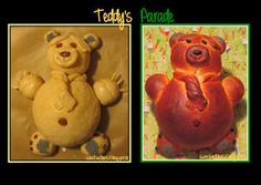 Sweet and That's it: Worldwide Teddy's Parade - La Parata degli Orsacchiotti Teddy Bear, Yummy Food, Bread, Sweet, Recipes, Animals, Candy, Animales, Delicious Food