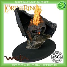 Sideshow Weta Herr der Ringe The Balrog - Flame of Udun Statue Lord of the Rings Balrog, Sideshow, Lord Of The Rings, Lotr, The Hobbit, Sculpting, Lion Sculpture, Middle Earth, Workshop