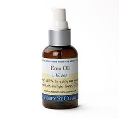 Emu Oil by Abbey St Clare. $16.50. Emu oil is anti-inflammatory, anti-bacterial and anti-microbial with a unique ability to easily and quickly penetrate multiple layers of skin. Studies have shown that emu oil could slow aging and thinning of the skin by 15-30%. The list of skin conditions successfully responding to emu oil include acne, age spots, burns, keloids, rashes, stretch marks, scars, and wrinkles. Ten year Australian clinical studies have found emu oil...
