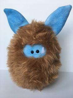 Cute Stuffed Monster  Collectible Handmade by ItsHandmadeByAndrea