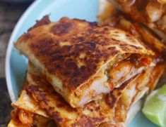 Spicy Shrimp Quesadillas - Ev's Eats - Spicy Shrimp Quesadillas - Ev's Eats Dinner Spicy shrimp quesadillas marinated in cayenne, smoked paprika, cumin, garlic, and of course A LOT of cheese! Quesadillas, Shrimp Quesadilla, Quesadilla Recipes, Vegetarian Quesadilla, Healthy Dinner Recipes, Mexican Food Recipes, Cooking Recipes, Ethnic Recipes, Mexican Dishes