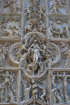 """by-grace-of-god: """"La Pieta, Milan Cathedral, Italy. Gothic Architecture, Beautiful Architecture, Beautiful Buildings, Architecture Details, Classical Architecture, Religious Architecture, Interesting Buildings, La Pieta, Milan Cathedral"""