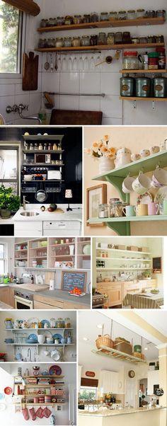 Como decorar gastando pouco: Cozinhas!
