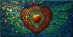 heart mosaic by jane JKelly