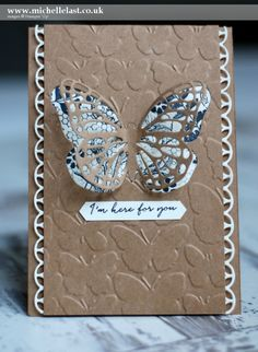 Butterfly Basics from Stampin' Up! #GDP44 - with Michelle Last