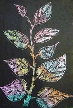 Рисовалки для детей Граттаж Царапанье по воску