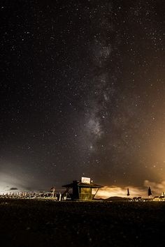 Milky Way over Fuerteventura Island - How to take photos of stars.
