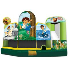 Cheap and high-quality Inflatable, Diego, 5 In 1 Bouncer for sale. On this product details page, you can find comprehensive and discount Inflatable, Diego, 5 In 1 Bouncer for sale.