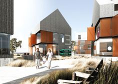 Beach Town Kronborg by Arkitema Architects