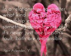 Relationship responsibility ebook  quote kindle Y Rain Arlender http://www.amazon.com/Y-Rain-Arlender-ebook/dp/B00LPMOOP4