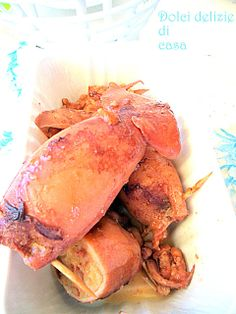 Dolci delizie di casa: Calamari alla procidana...anzi di Assunta!