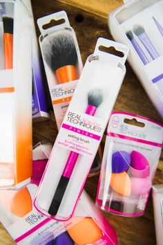 We just restocked our makeup brushes from Real Techniques! If you haven't gotten your free sample yet, just click the pin to let us know where to send it! Makeup Goals, Makeup Inspo, Makeup Tips, Beauty Makeup, Makeup Products, Makeup Brands, Makeup Tutorials, Makeup Ideas, Beauty Products
