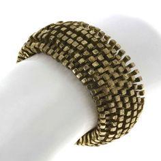 Golden Metal Fashion Bracelet in Elastic Cord Costume Jewelry Indian ShalinIndia,http://www.amazon.com/dp/B00AA8NK4U/ref=cm_sw_r_pi_dp_rmG9rb1V580KG0VT
