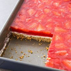 Strawberry Pretzel Salad from Cook's Country