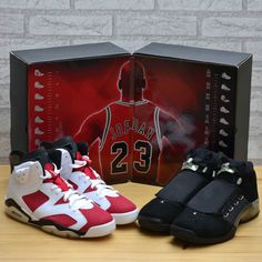 0fce68485aa5 2008 Retro Jordan Collezione (GS) multi-color for sale. Black silver and red white  Missing the detachable covers for the and one shoe box from a move.