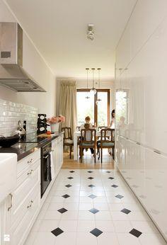 Znalezione obrazy dla zapytania biała kuchnia styl eklektyczny