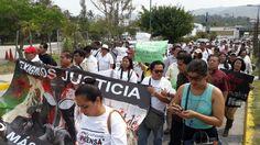 Protestan comunicadores de Guerrero