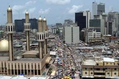 Lagos, Nigeria., my how it has grown! The day we left, the first phone lines were being put in.