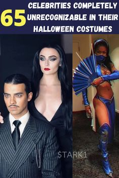 "Celebrities do Halloween ""way big."" After all, they have the funds, stylists, and make-up artists to help them. So, each year we can look forward to seeing their spectacular Halloween transformations. Sometimes these transformations are not only spectacular but completely astonishing. That's because they render their famous face wearing costumes making them completely unrecognizable."