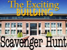 The Exciting Building Scavenger Hunt Challenge - Instant Download - used in any public building ;-)
