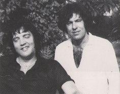 Hawaii March 1977  Elvis and  Larry Geller