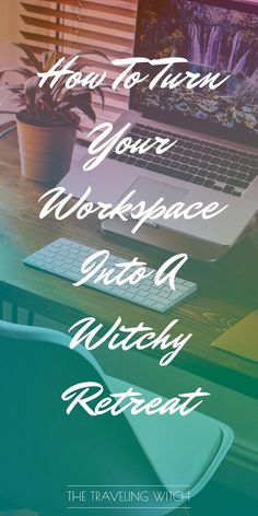 How To Turn Your Workspace Into A Witchy Retreat // Witchcraft // Magic // The Traveling Witch Witchcraft For Beginners, Eclectic Witch, Herbal Magic, Witch Spell, Wiccan, Pagan Witchcraft, Magick Spells, Candle Spells, Book Of Shadows