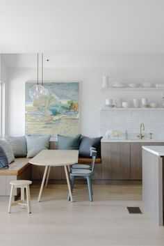 Winner of Belle Coco Republic Interior Design Awards 2015 Best Kitchen Design: Foreshore House by Justine Hugh-Jones.