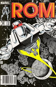 Rom: Space Knight # 66 by P. Craig Russell