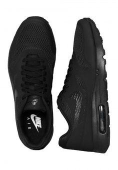 Nike - Air Max 1 Ultra Essential Black/Black/Black - Schoenen - Officiële Streetwear Webshop - Impericon Nederland