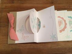 Circle Card Mini Album zum Geburtstag ~ STEMPEL...und deine Ideen werden wahr...