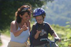 Spaß für Groß und Klein - in der Radregion Bad Radkersburg gibt es unterschiedlicheste Radstrecken, bestens geeignet für die ganze Familie! #Radregionbadradkersburg #Urlaub #Familie #Radtour