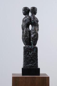 Skulptur i det bla