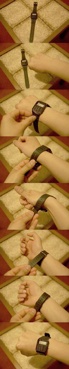 Armbanduhr tragen