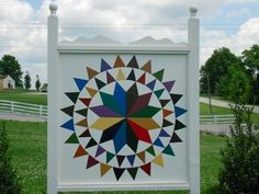 Barn Quilt Patterns To Paint | quilt trail, The Owen County Quilt Trail Home