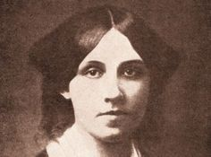Louisa May Alcott, born 29 November 1832, died 6 March 1888 -- Alcott was an American novelist best known as author of the novel Little Women and its sequels Little Men and Jo's Boys. A feminist and abolitionist, she grew up among many of the well-known intellectuals of the day such as Ralph Waldo Emerson, Nathaniel Hawthorne, and Henry David Thoreau.