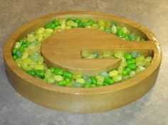 Green Bay Packers Wood Bowl by FireWDesigns on Etsy, $24.99