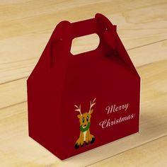 Check out Zazzle's variety of Deer favor boxes! Browse all of our wonderful designs and get your favor bag today! Favor Boxes, Reindeer, Favors, Merry, Cute, Christmas, Xmas, Presents, Favour Boxes