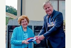 On Sunday 14 September, the family of William Charles Fuller VC - the first Welshman to be awarded a Victoria Cross - joined the local community in Laugharne at a paving stone ceremony to honour his bravery