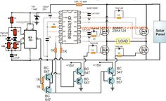 Electronic Circuit Projects: H-Bridge Mains Voltage Stabilizer Circuit, to. Electronic Circuit Projects, Electronic Engineering, Electronic Recycling, Electrical Engineering, Electronics Projects, Electronics Components, Diy Electronics, Solar Panel Project, Power Supply Circuit