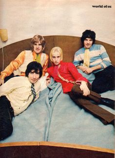 WORLD OF OZ - 1969 Bravo (DE) Members also in GARBO, KANSAS HOOK, AMERICAN JAM BAND & as a late & best lineup of THE CASUALS. Brummie Psych Pop wizards!